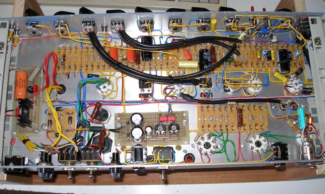 Guitar Amplifier Wiring Schematic Wiring Diagrams