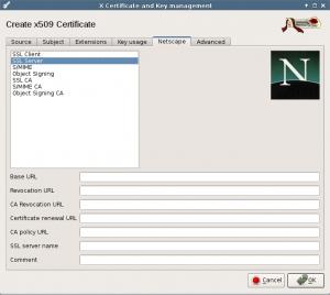 Netscape tab